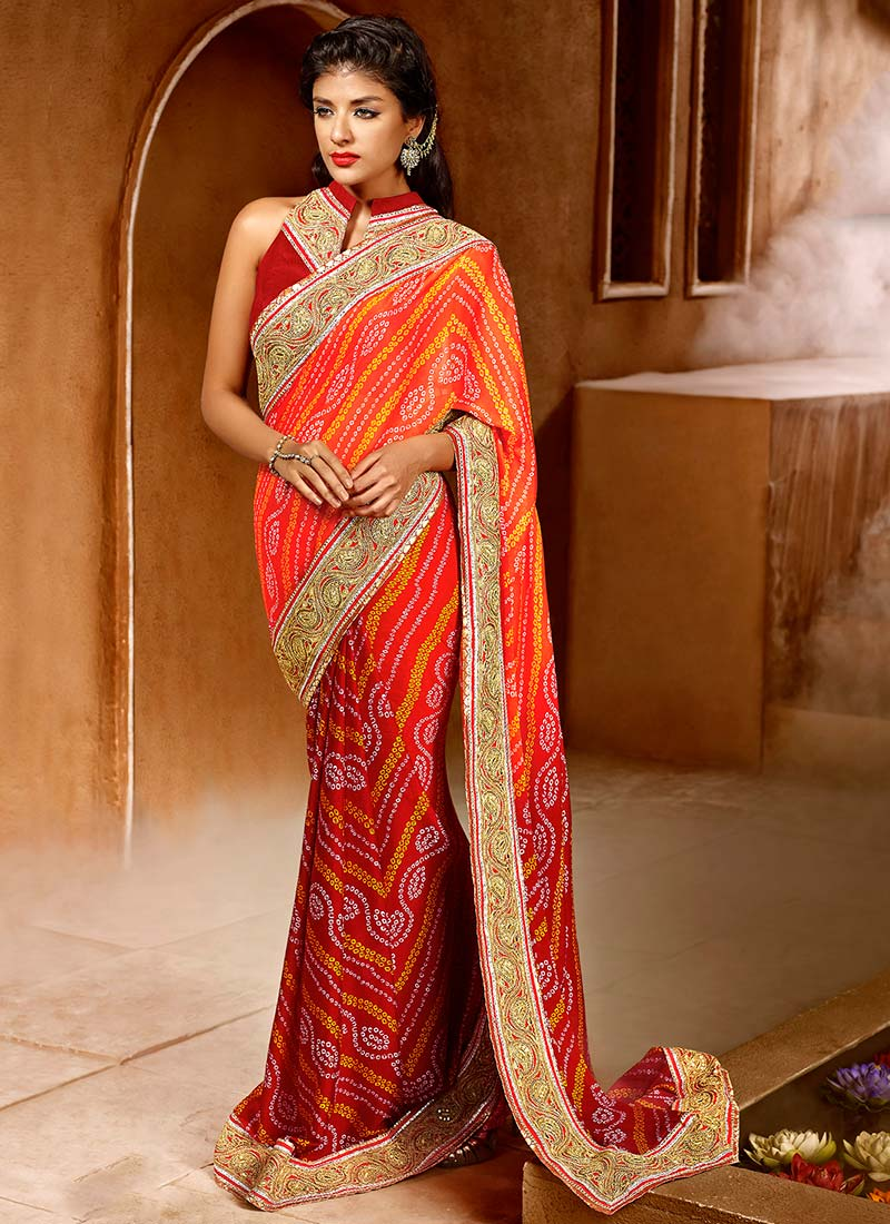 Latest Indian Party Wear Sarees Collection 2015-2016 (24)