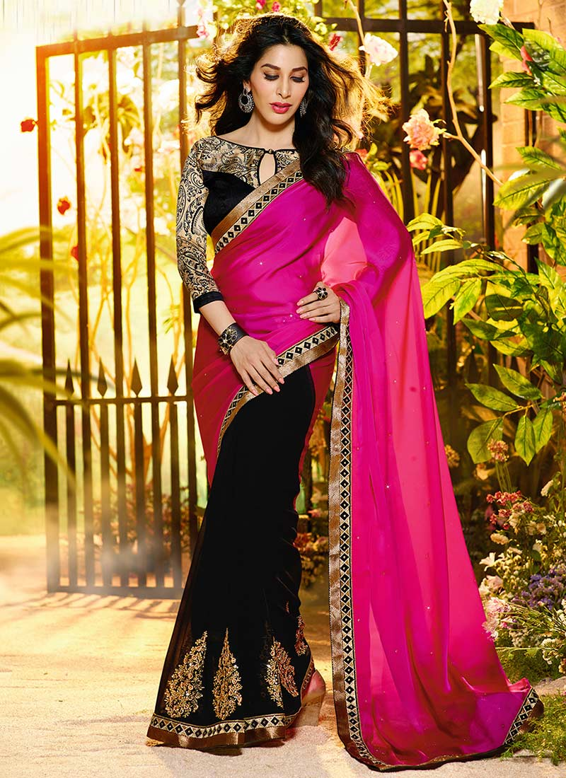 Latest Indian Party Wear Sarees Collection 2015-2016 (3)