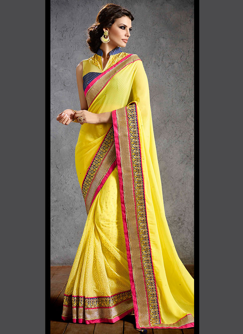 Latest Indian Party Wear Sarees Collection 2015-2016 (31)