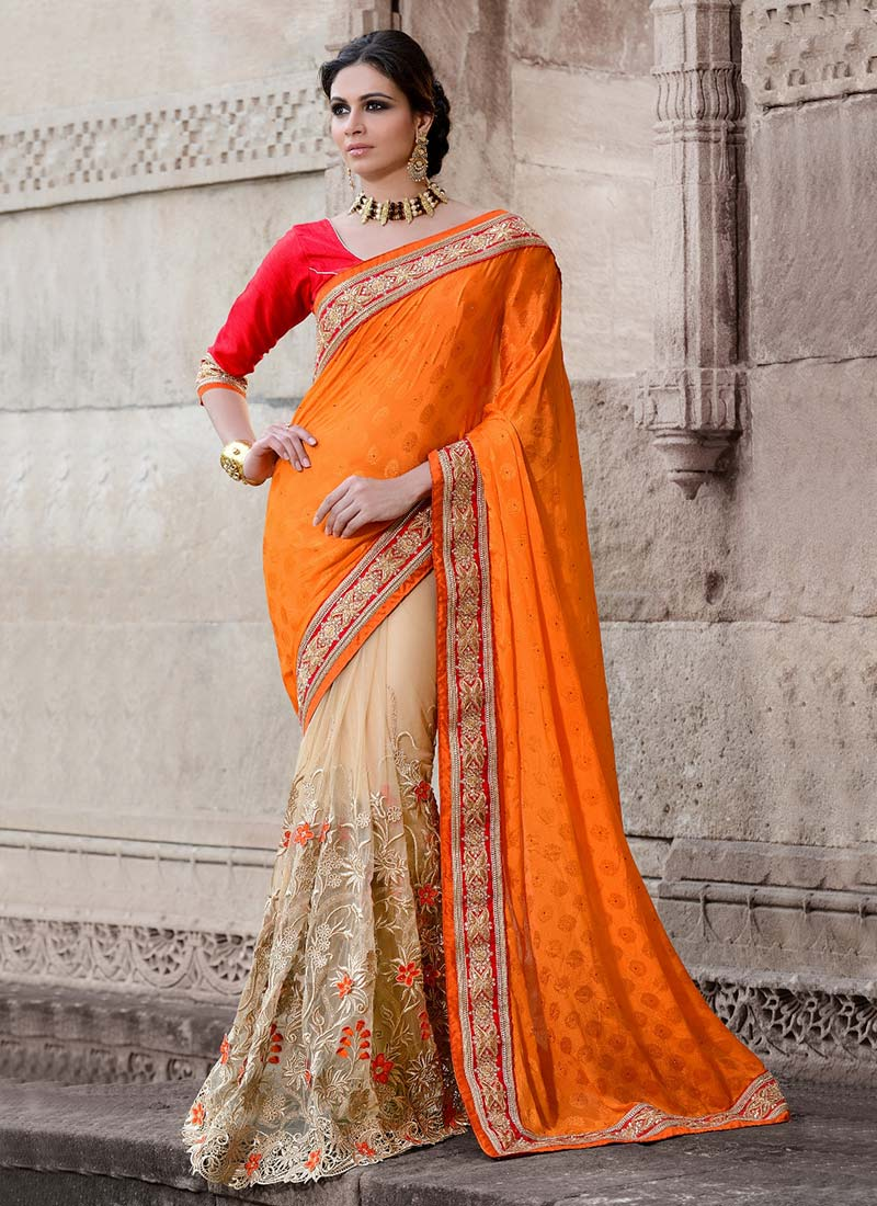 Latest Indian Party Wear Sarees Collection 2015-2016 (32)