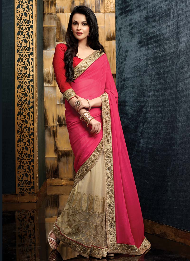 Latest Indian Party Wear Sarees Collection 2015-2016 (34)