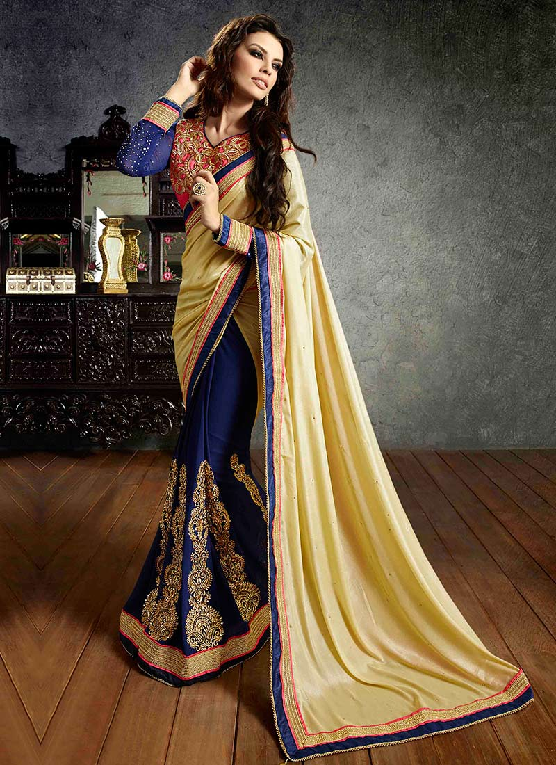 Latest Indian Party Wear Sarees Collection 2015-2016 (4)