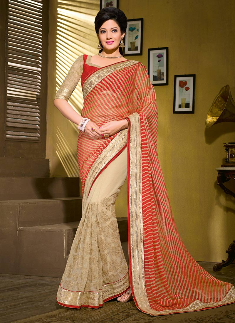 Latest Indian Party Wear Sarees Collection 2015-2016 (7)