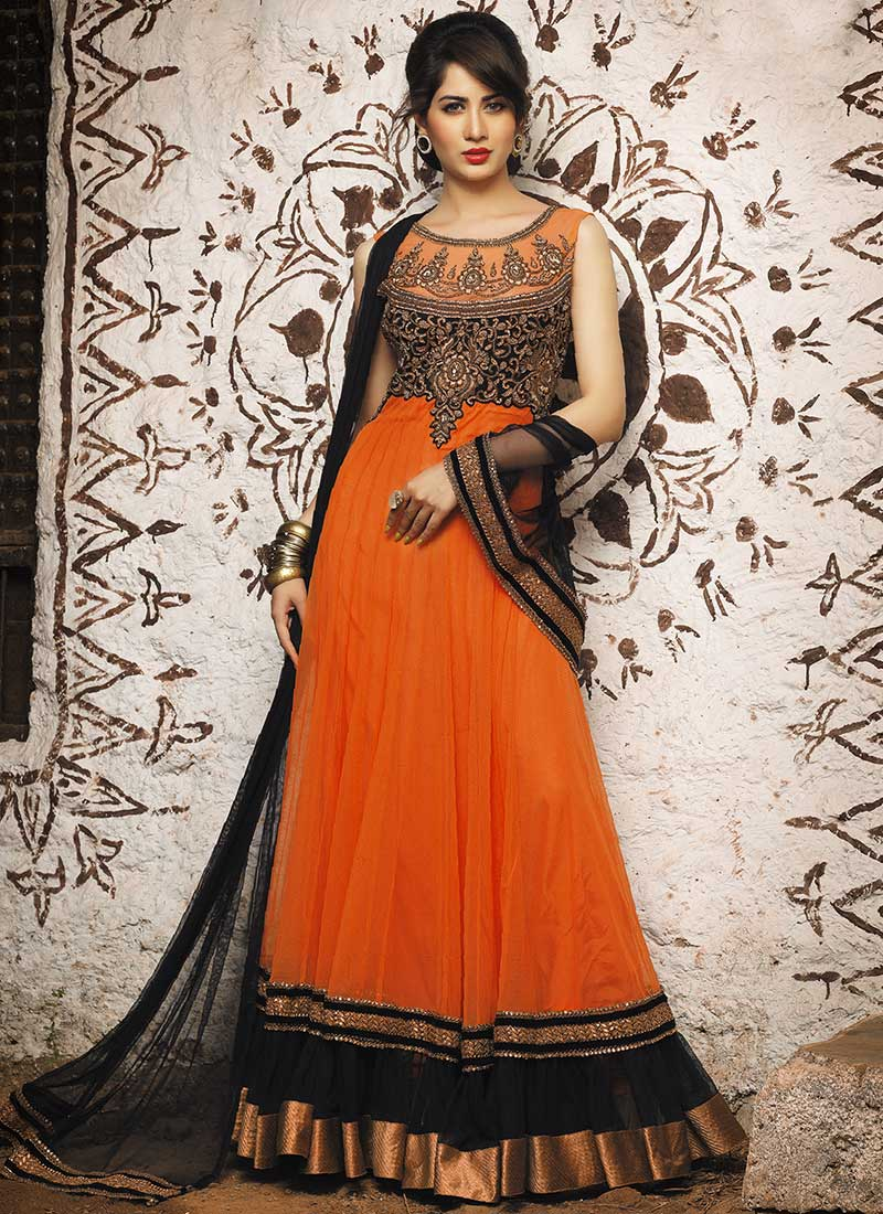Latest Maxi Style Anarkali Dresses & Frocks Designs 2015-2016 (10)