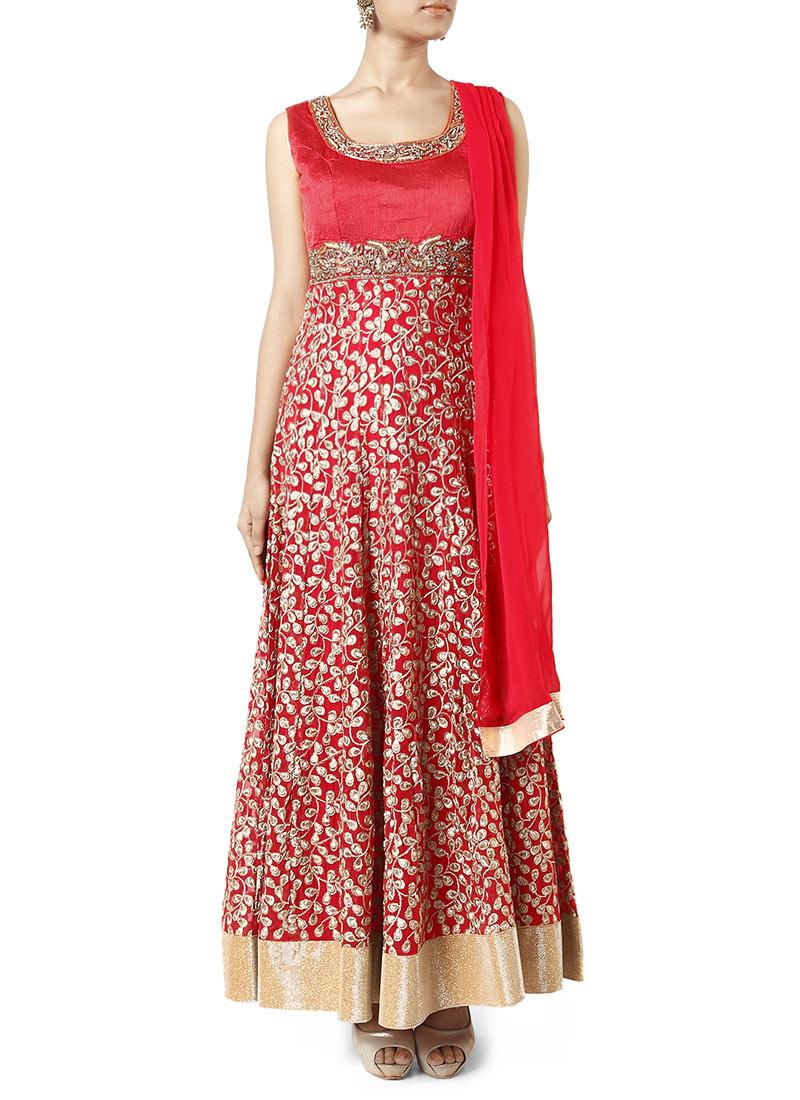 Latest Maxi Style Anarkali Dresses & Frocks Designs 2015-2016 (14)