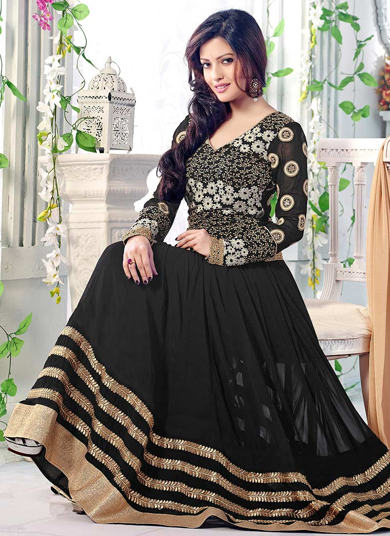 Latest Maxi Style Anarkali Dresses & Frocks Designs 2015-2016 (2)