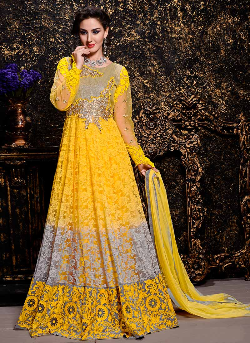 Latest Maxi Style Anarkali Dresses & Frocks Designs 2015-2016 (22)