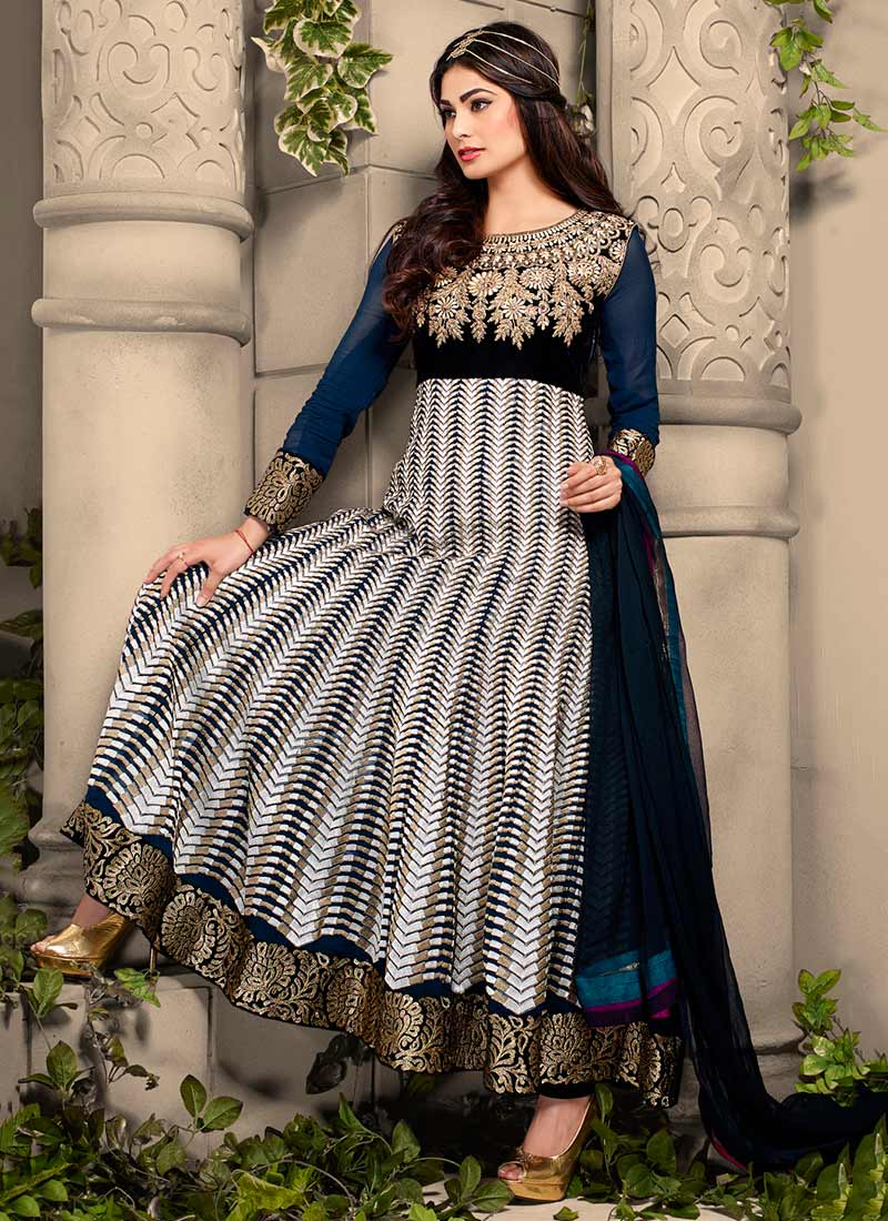 Latest Maxi Style Anarkali Dresses & Frocks Designs 2015-2016 (7)