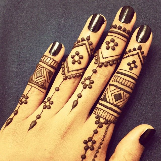 Latest simple eid mehndi designs collection 2015 2016 21