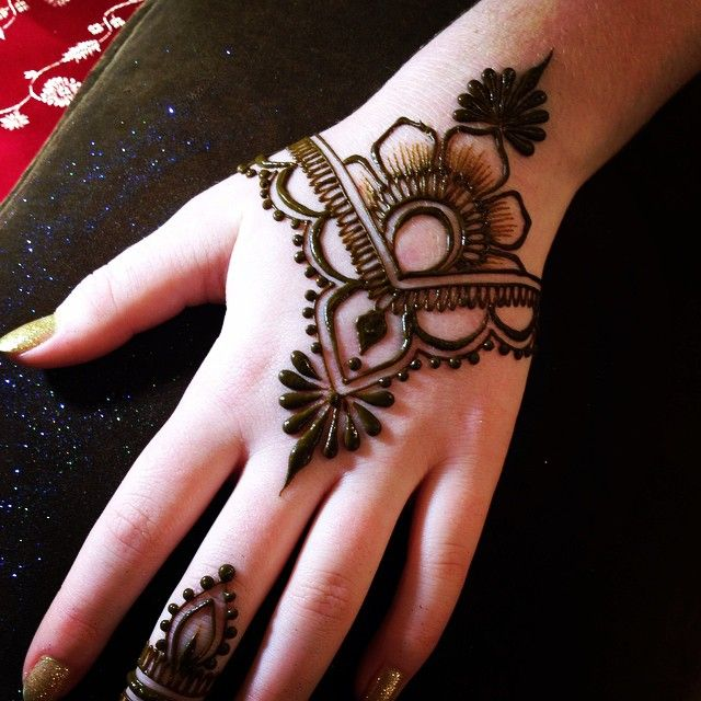Mehndi Designs New Simple : Pakistani indian eid mehndi designs collection