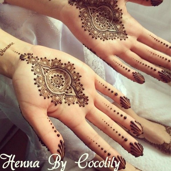 Mehndi Palm Design : Pakistani indian eid mehndi designs  collection