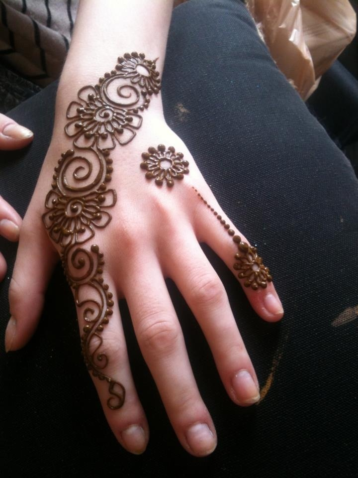 Simple Mehndi Designs For Hands 2017: Pakistani 6 Indian Eid Mehndi Designs Collection 2019-2020rh:stylesgap.com,Design