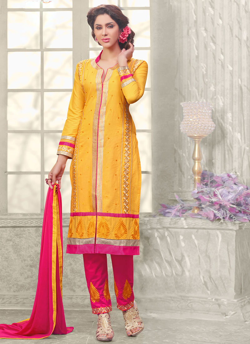Latest Straight Pant Suits Collection for Women 2015-2016 (11)