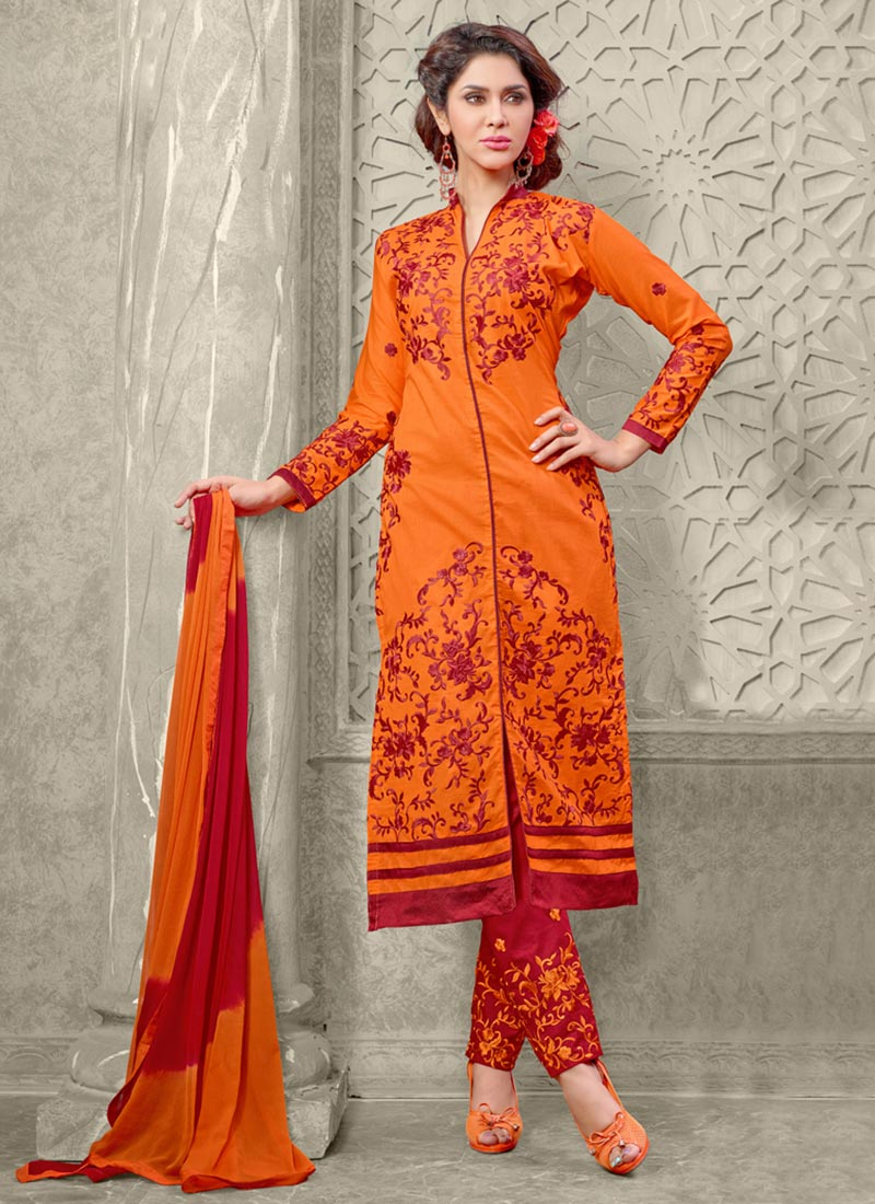 Latest Straight Pant Suits Collection for Women 2015-2016 (14)