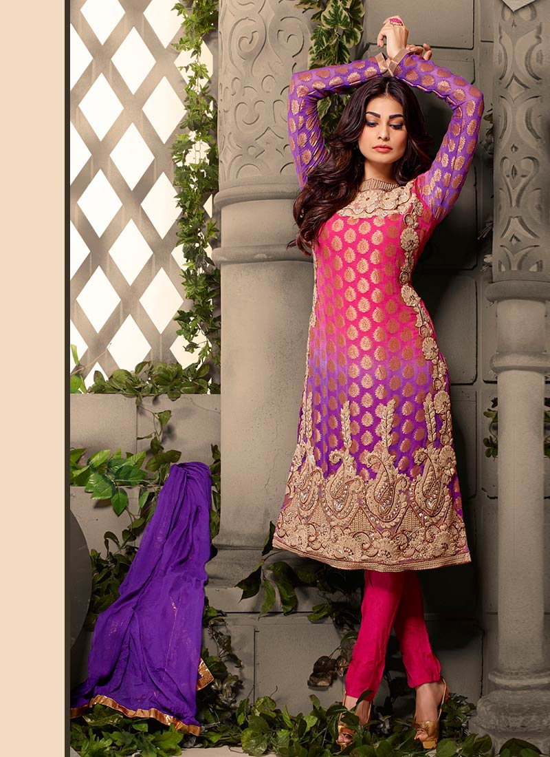 Latest Straight Pant Suits Collection for Women 2015-2016 (20)