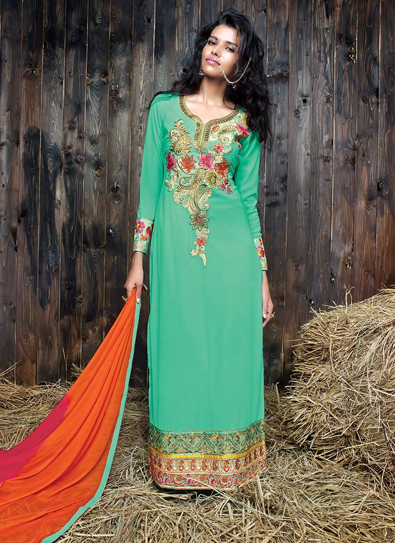 Latest Straight Pant Suits Collection for Women 2015-2016 (5)