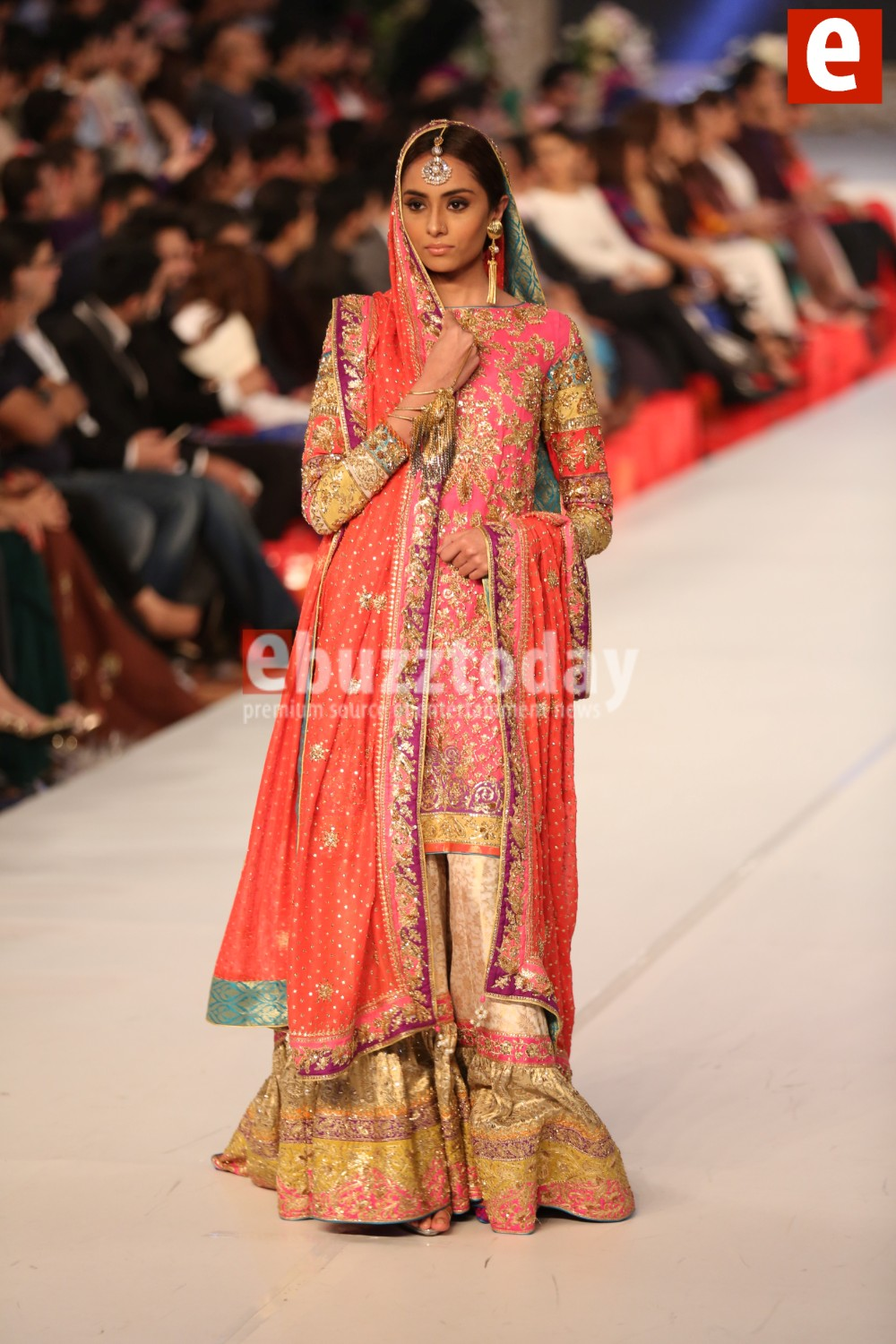 Nomi Ansari Bridal Collection at PFDC L'Oréal Paris Bridal Week (2)