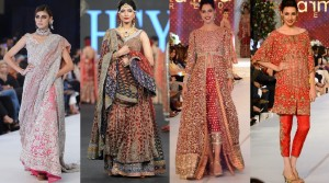 PFDC L'Oreal Paris Bridal Week Collections 2015-2016 by Top Designers