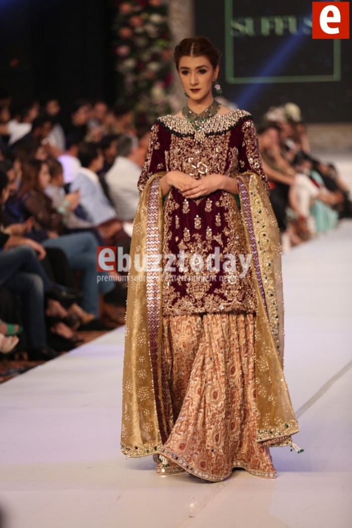 Sana Yasir collection at PFDC L'Oréal Paris Bridal Week 2015-2016 (3)
