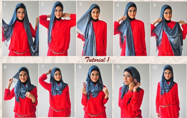 Side-Draped- Hijab Tutorial