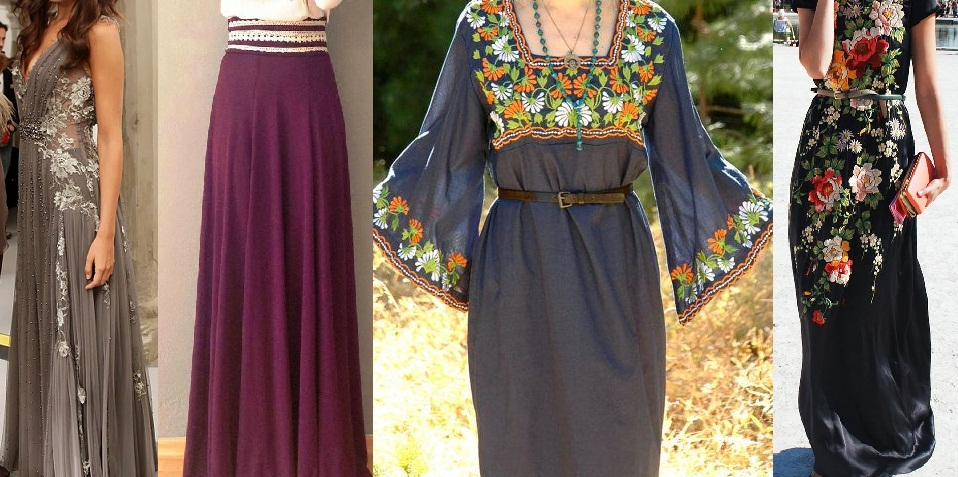 Stylish Ankle & Floor Length Maxis Collection 2015-2016