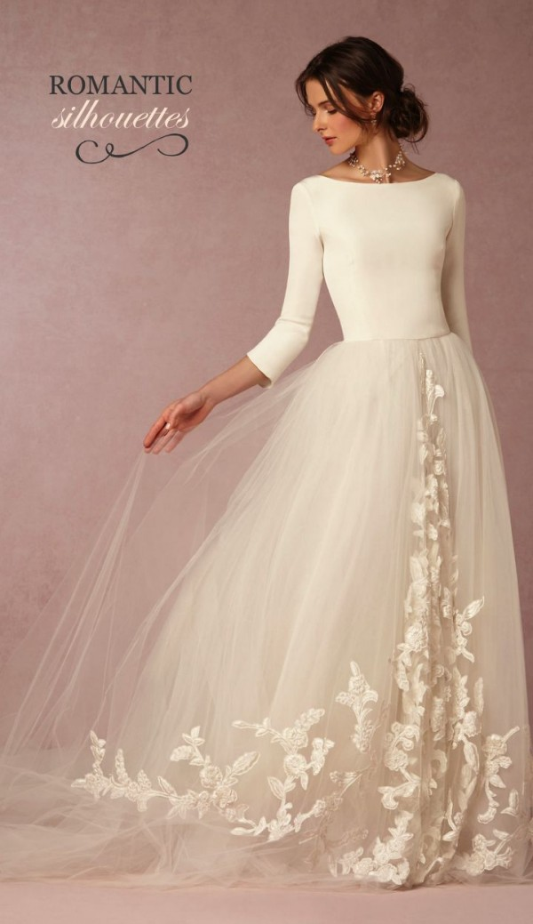 White Wedding Gowns Bridal Dresses Collection 2015-2016 (15)