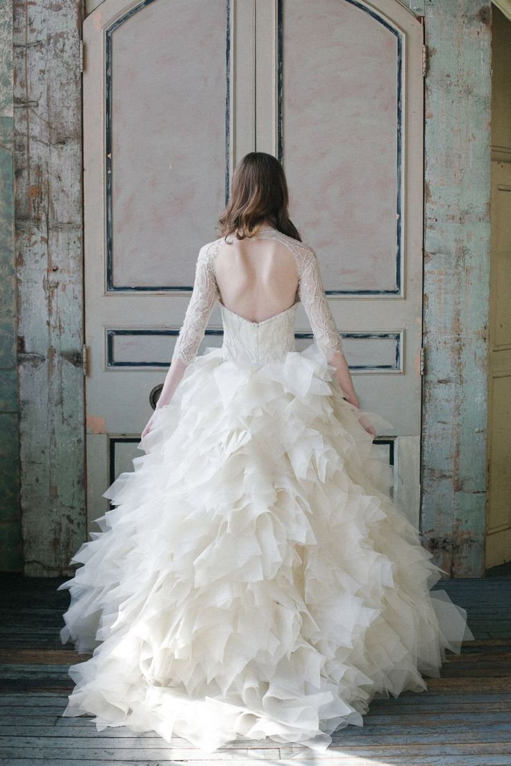 White Wedding Gowns Bridal Dresses Collection 2015-2016 (21)
