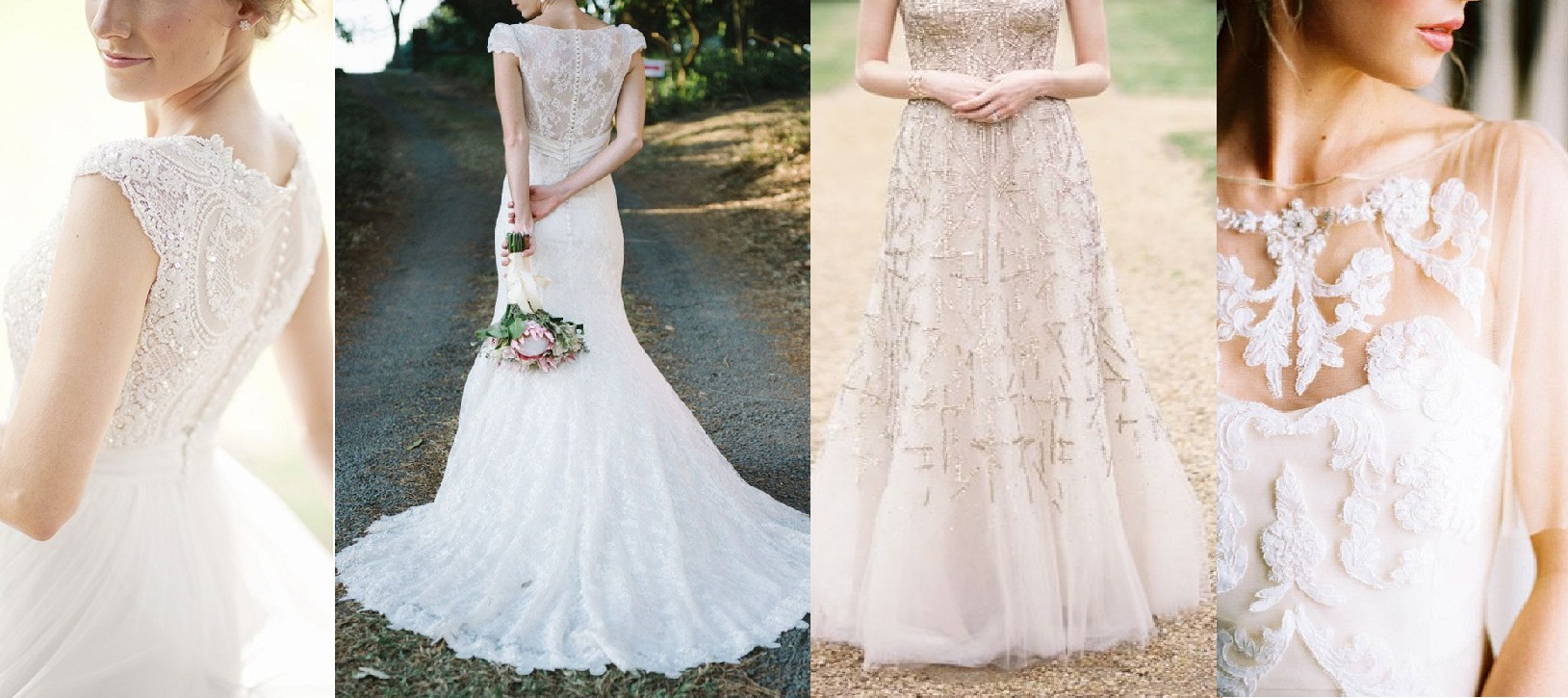 White Wedding Gowns Bridal Dresses Collection 2015-2016 (28)