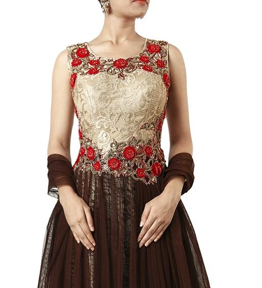 Beautiful Neckline Designs for Anarkali Suits (3)
