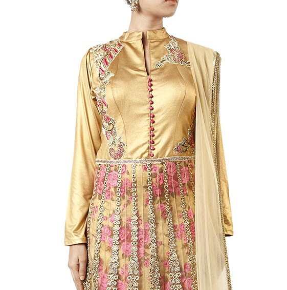 Beautiful Neckline Designs for Anarkali Suits (4)