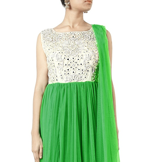 Beautiful Neckline Designs for Anarkali Suits (5)