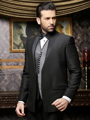 Latest Men Party Wear Formal Coat Pant Suits 2016 2017