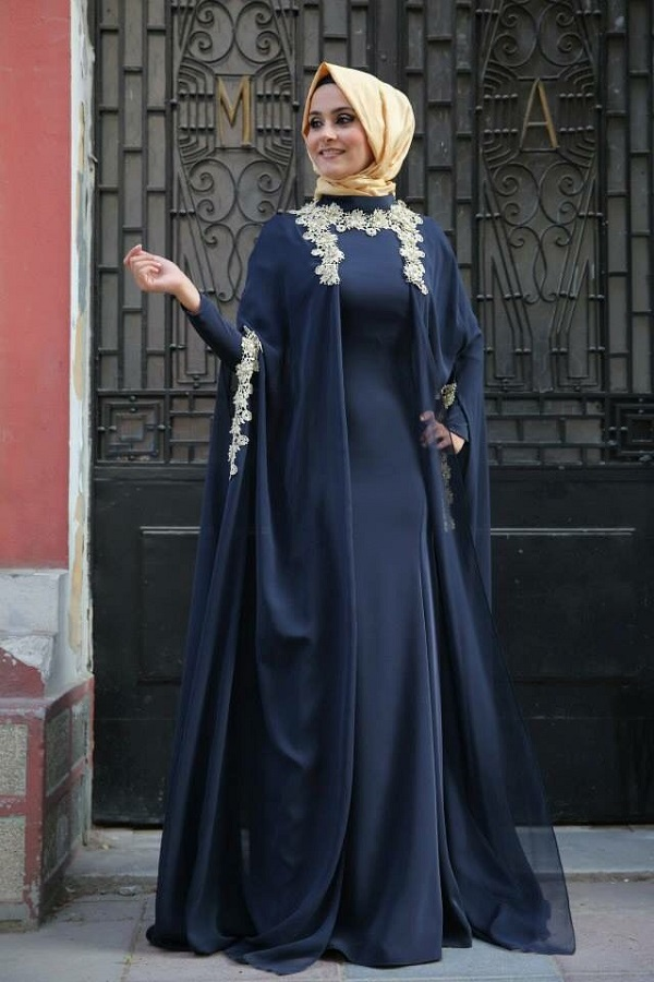 Latest Fancy Party Wear Formal Hijabs Abaya Collection ...