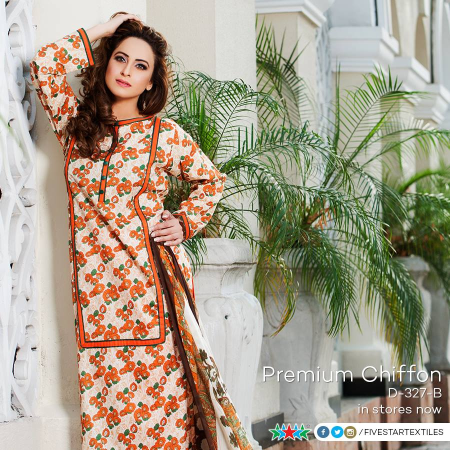 Five Star Textile Winter Dresses Collection 2015-2016 (10)