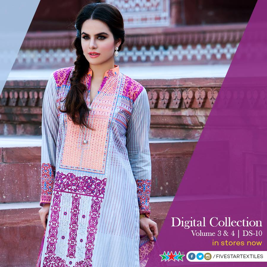 Five Star Textile Winter Dresses Collection 2015-2016 (12)