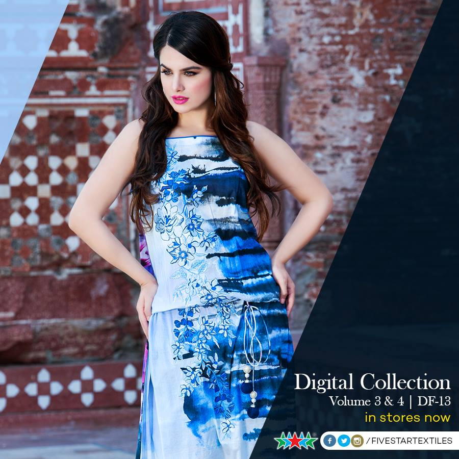 Five Star Textile Winter Dresses Collection 2015-2016 (18)