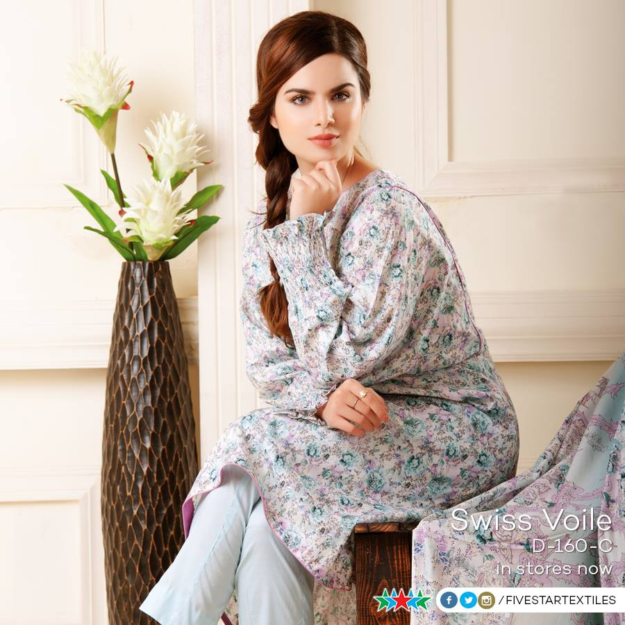 Five Star Textile Winter Dresses Collection 2015-2016 (20)