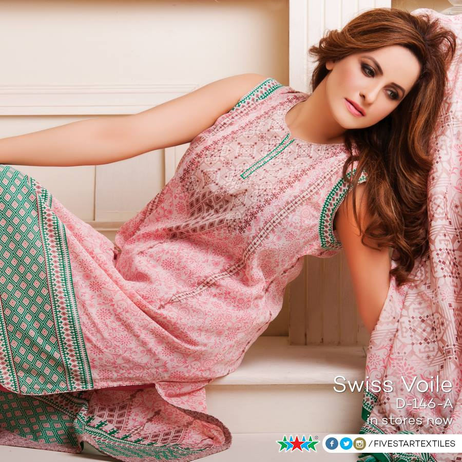 Five Star Textile Winter Dresses Collection 2015-2016 (4)