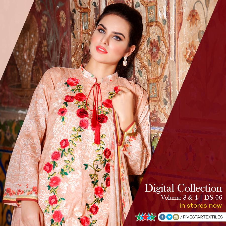 Five Star Textile Winter Dresses Collection 2015-2016 (5)