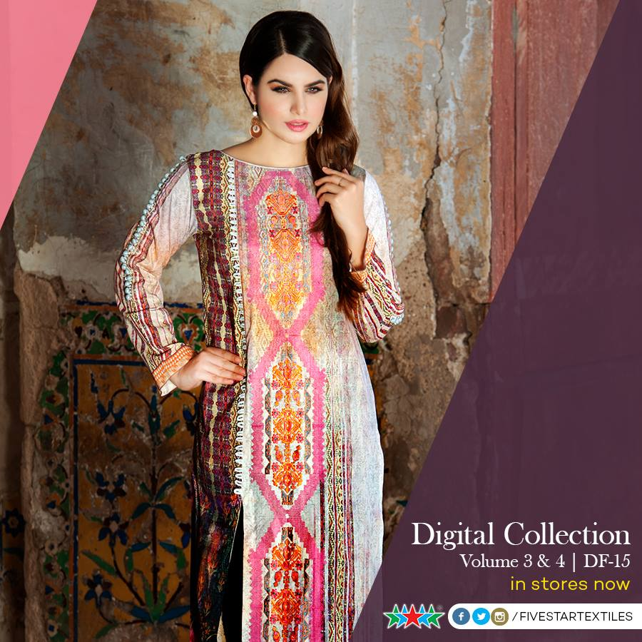Five Star Textile Winter Dresses Collection 2015-2016 (6)