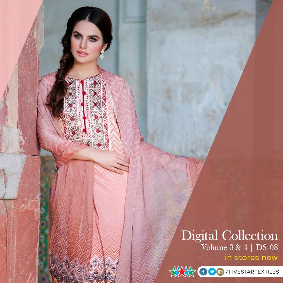 Five Star Textile Winter Dresses Collection 2015-2016 (7)