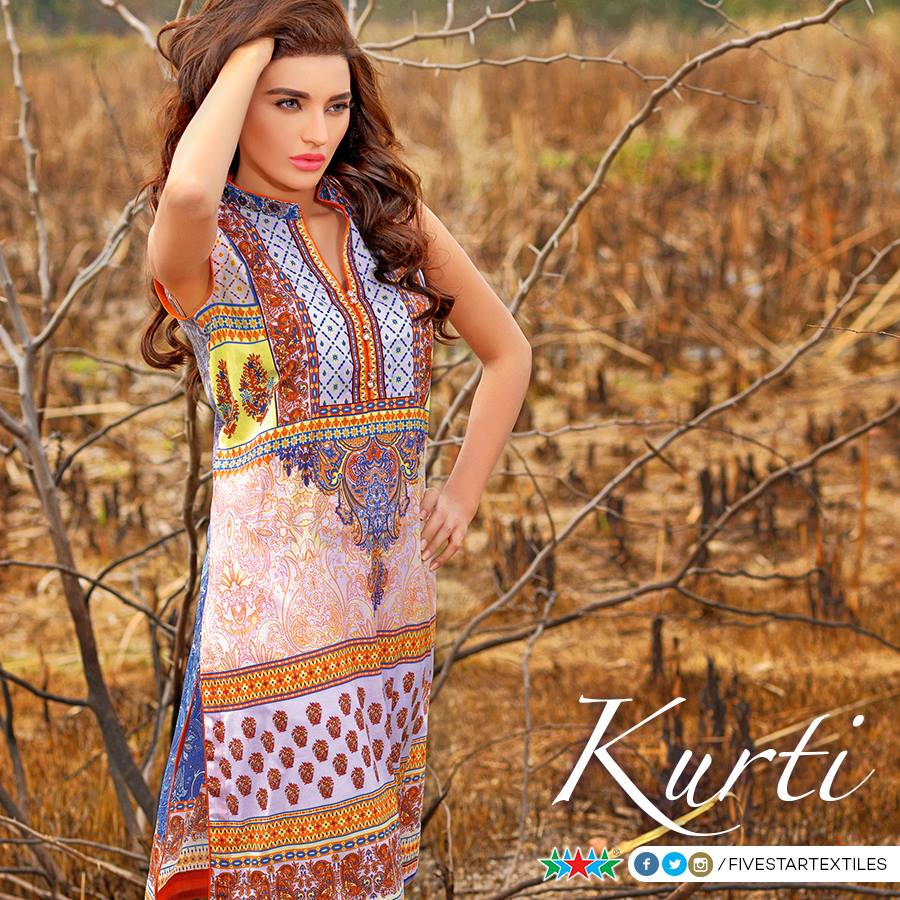 Five Star Textile Winter Dresses Collection 2015-2016 (8)
