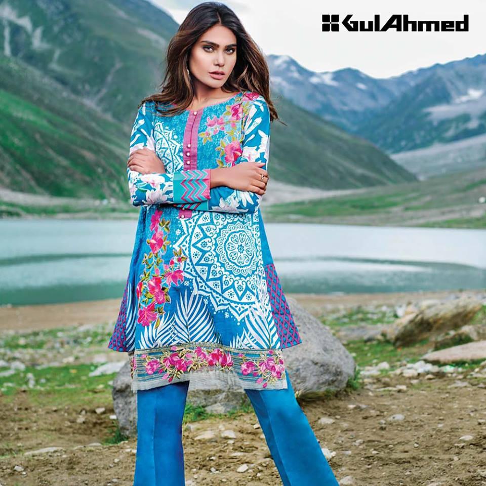 Gul ahmed winter dresses collection 2015 fashionip - Nishat
