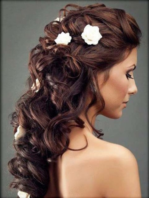 Half up half down Hairstyles (1)