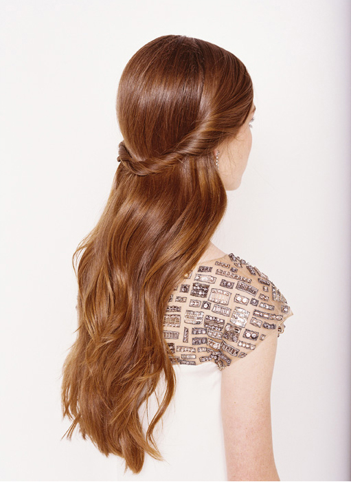 Half up half down Hairstyles (3)