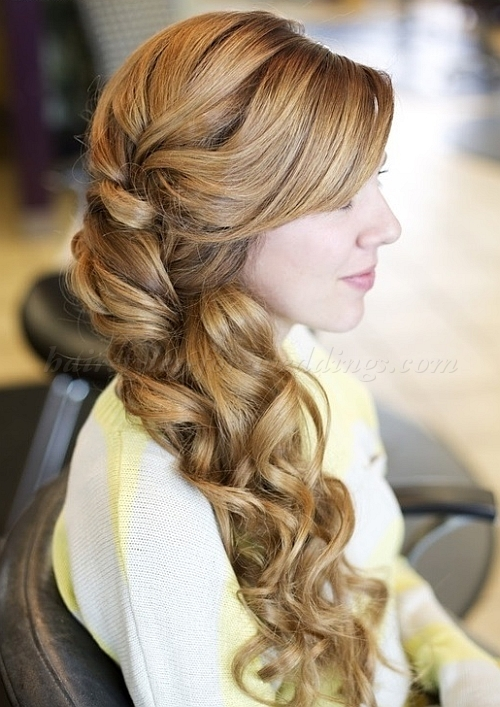 Half up half down Hairstyles (4)