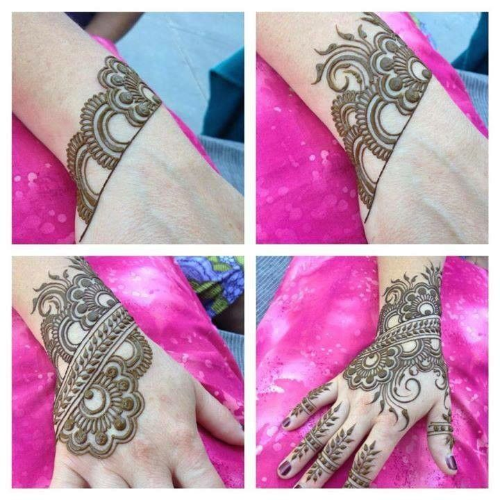 Mehndi Step By Step Tutorial : How to apply heena mehndi designs tutorial step by