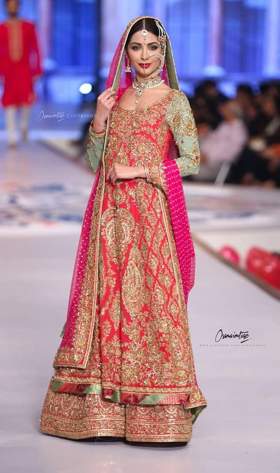 latest wedding bridal sharara collection 20162017