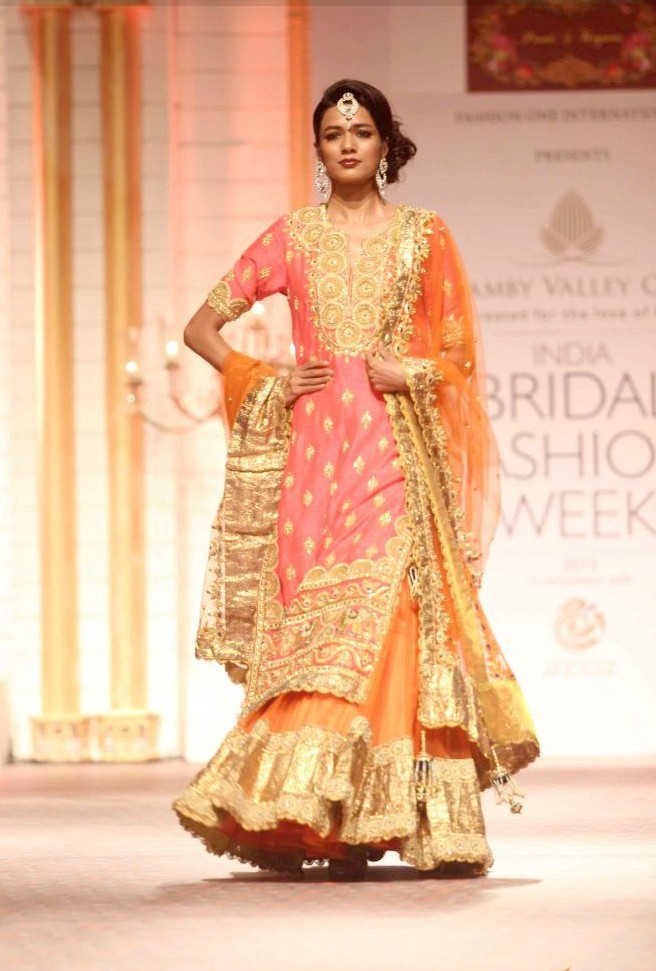 Indian Bridal Wedding Sharara Designs Collection 2015-2016 (4)