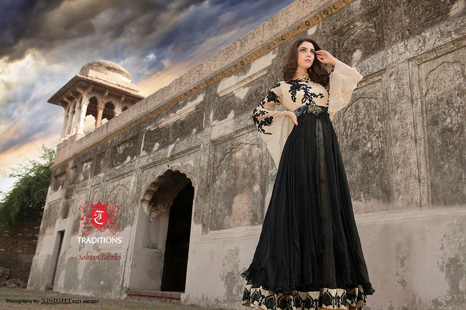 Indian Party Wear Frocks & dresses 2015-2016 (1)